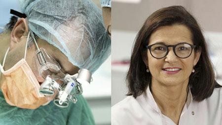 La Dra. Isabel Ramos y el Dr. Juan Blanco exponen de manera brillante
