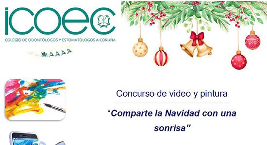 Concurso de video y pintura ICOEC en la Navidad 2019