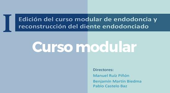 I Curso modular de endodoncia y reconstrucción del diente endodonciado