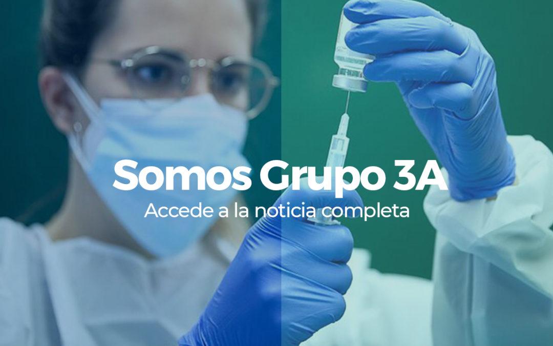 Somos Grupo 3A: criterios de vacunación para la clínica dental