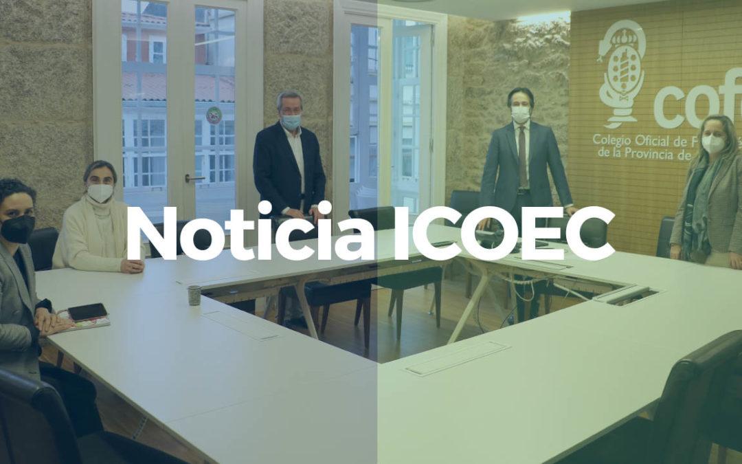 Reunión con el Colegio de Farmacéuticos de A Coruña